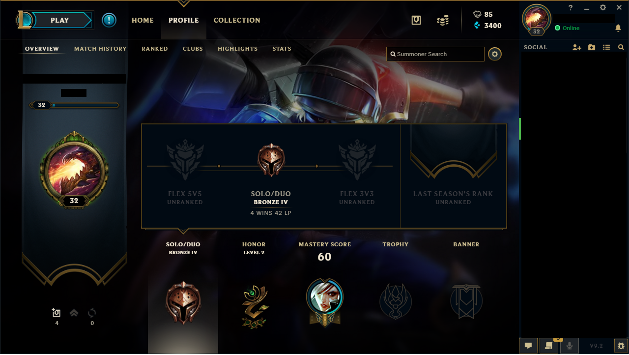 Selling - [EUW] Lvl 30 Ranked Smurf | EpicNPC Marketplace