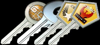 cheap cs go case keys
