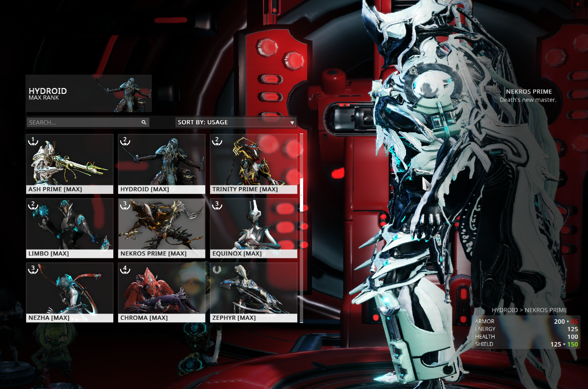 Sold Selling Warframe Account Mr22 Epicnpc Marketplace